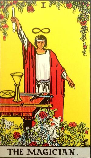 タロットカード『魔術師』 by占いとか魔術とか所蔵画像