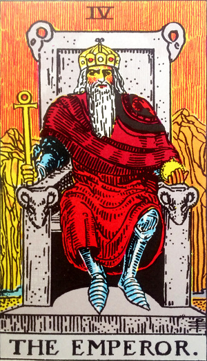 タロットカード『皇帝』 by占いとか魔術とか所蔵画像