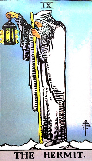 タロットカード『隠者』 by占いとか魔術とか所蔵画像