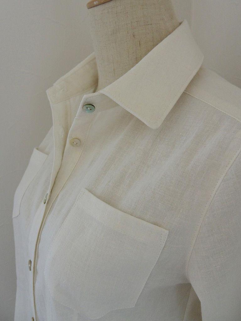 白シャツ4