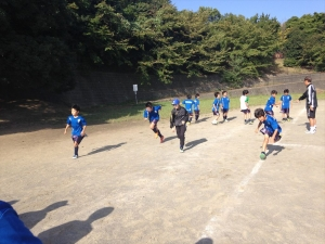 【L】練習試合 vs 元石川SC/2014年9月28日(日)@保木グラウンド/横浜市青葉区/少年サッカー