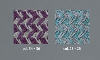 982ピエロソミュールプラスデザインセーター編み地アップ