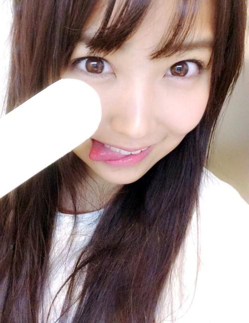NMB 白間美瑠(17) フェラ自撮りの大サービスwww #エロ画像 80枚