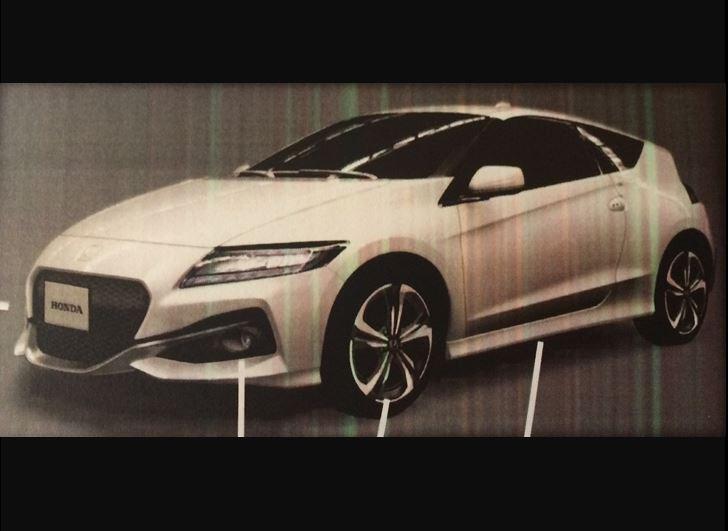 Honda new CR-Z 2016