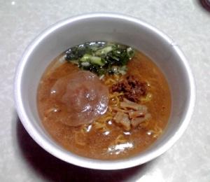 麺屋彩未 札幌味噌らーめん(カップ版)(できあがり)