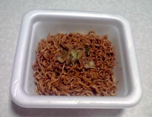 旅麺 浅草 ソース焼そば(できあがり)