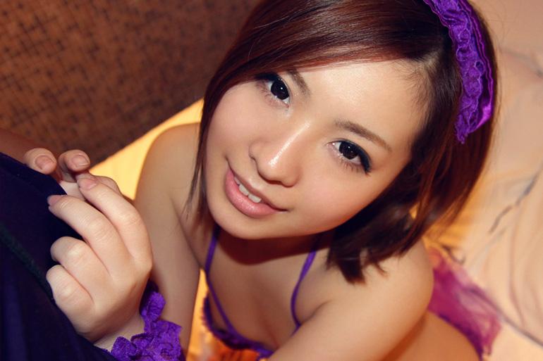 中川美香 ミニマムキュートなお姉さんのハメ撮りセックス画像