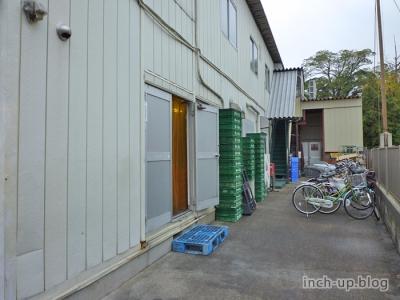 工場への入口