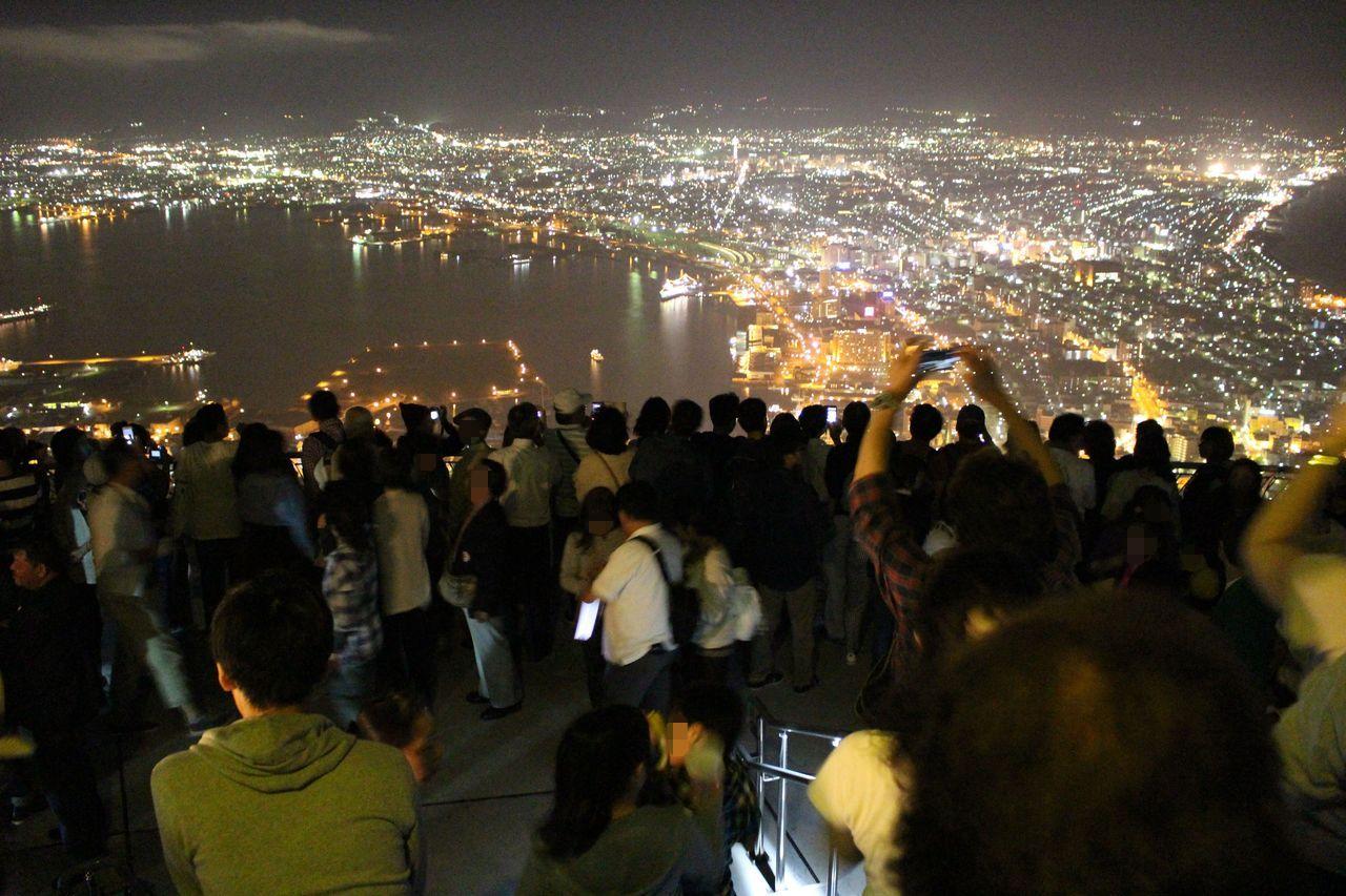 函館山の夜景-2