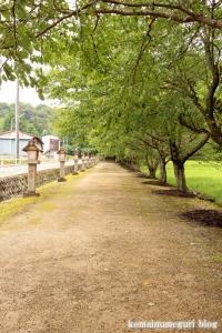 神魂(かもす)神社(松江市大庭町)2