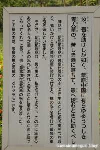 黄泉比良坂(よもつひらさか)(松江市東出雲町揖屋)4