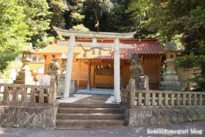 客神社(松江市島根町加賀)1