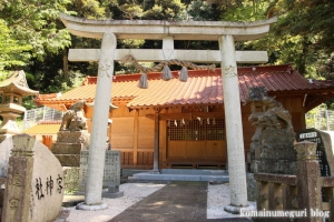 客神社(松江市島根町加賀)3