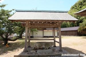 恵曇(えとも)神社(松江市嘉島町恵曇)4