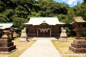恵曇(えとも)神社(松江市嘉島町恵曇)7