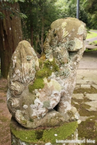 西生馬神社(松江市西生馬町)4