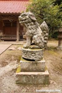 西生馬神社(松江市西生馬町)26