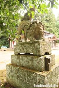 秋鹿(あいか)神社(松江市秋鹿町)9