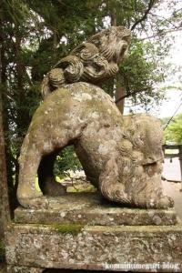 秋鹿(あいか)神社(松江市秋鹿町)7