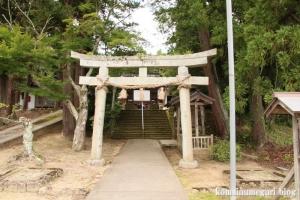 秋鹿(あいか)神社(松江市秋鹿町)1