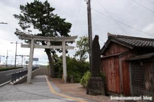 須衛都久(すえつぐ)神社(松江市西茶町)1