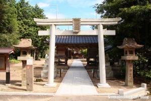 布宇(ふう)神社(松江市玉湯町林)17