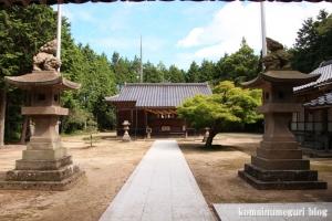 布宇(ふう)神社(松江市玉湯町林)36