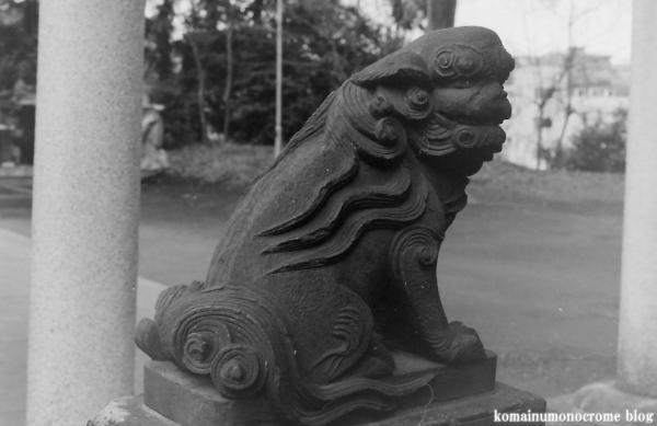 大蔵氷川神社(世田谷区大蔵)3
