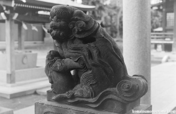 大蔵氷川神社(世田谷区大蔵)1
