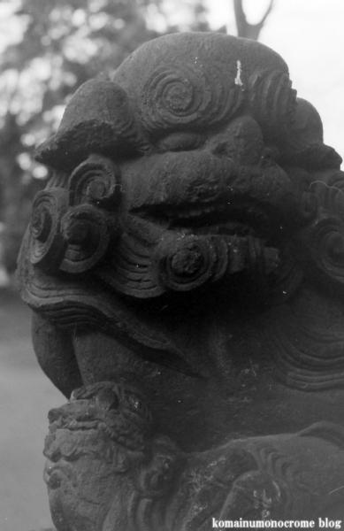 大蔵氷川神社(世田谷区大蔵)2