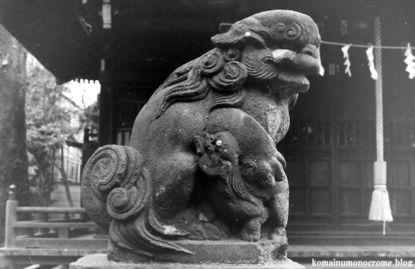 八幡神社(狛江市岩戸南)3