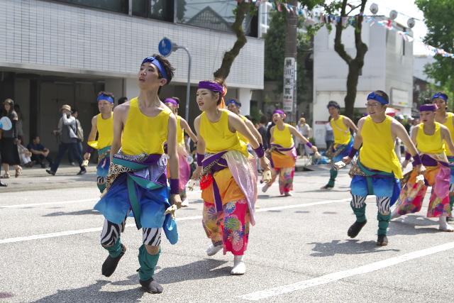 62回よさこい祭り 梅ノ辻 CENTRAL GROUP