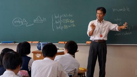 杉戸高校英語の授業