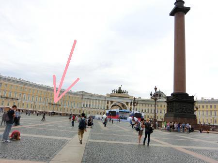 サンクトペテルブルク 宮殿広場2