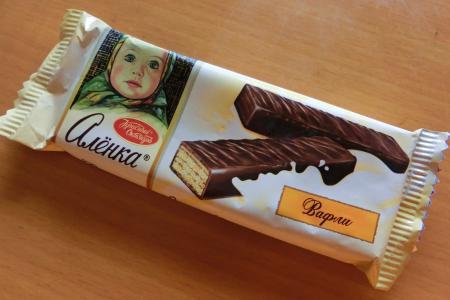 ロシア・サンクトペテルブルク スーパーのお菓子6