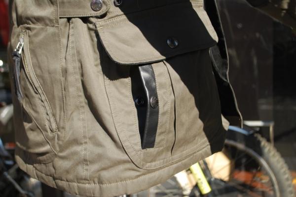 MFJ-2005 パラフィンレザーパッチジャケット