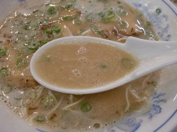 ばりこて@高田馬場・20150913・スープ