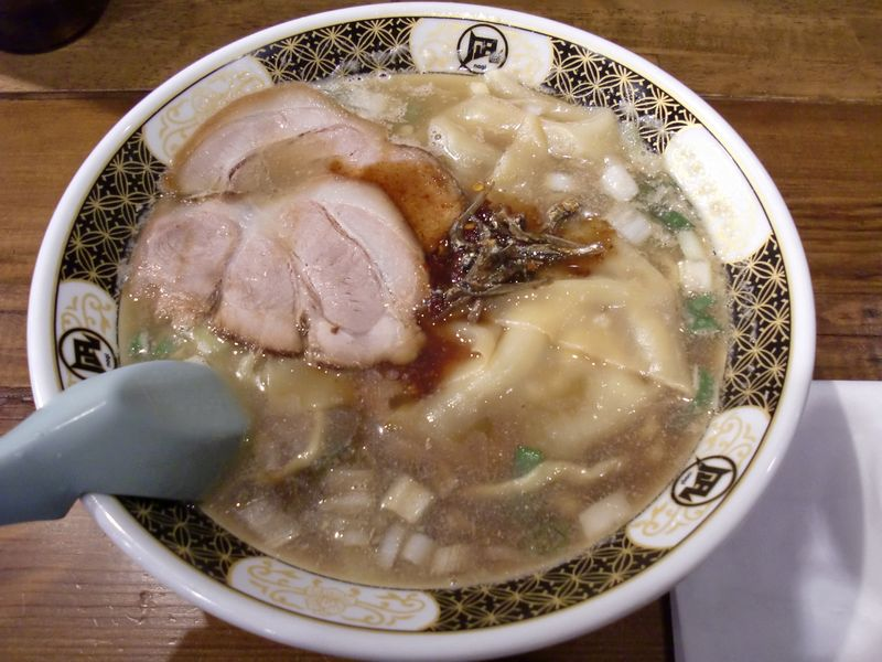 凪@渋谷・20150923・すごい煮干ラーメン