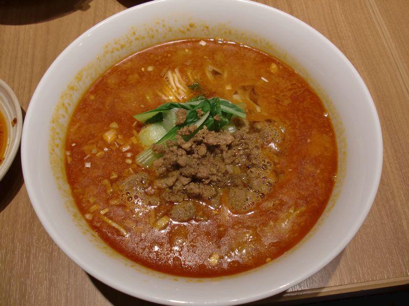 芝蘭@豊洲・20150926・担々麺