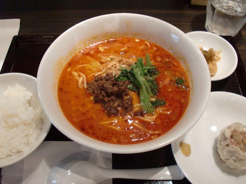 大豊記@御成門・20151020・担々麺