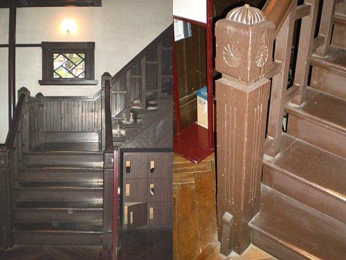 インブリー館・1F階段