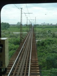 富山地方鉄道 本線 常願寺川の橋梁
