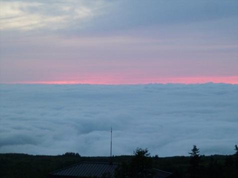 天望立山荘からの眺望