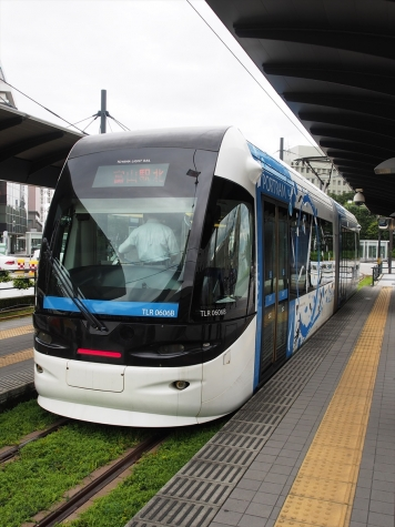 富山ライトレール TLR0600形 電車