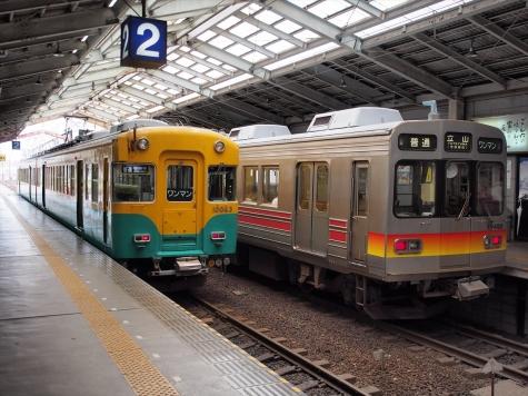 富山地方鉄道 10030形&17480形 電車