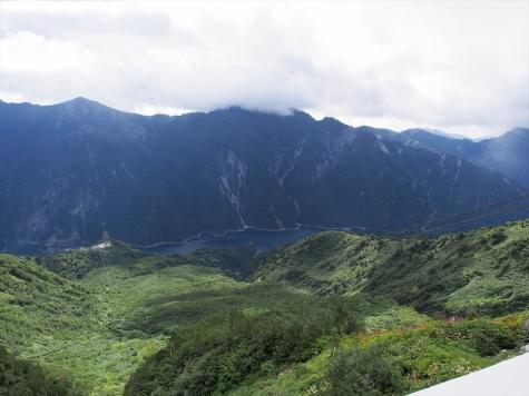 後立山連峰と黒部湖【大観峰より】