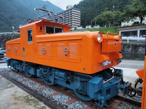 黒部峡谷鉄道 ED11号 電気機関車