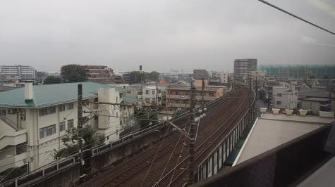 武蔵野線から西浦和支線へ