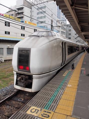 JR東日本 651系 臨時快速「ぶらり川越号」