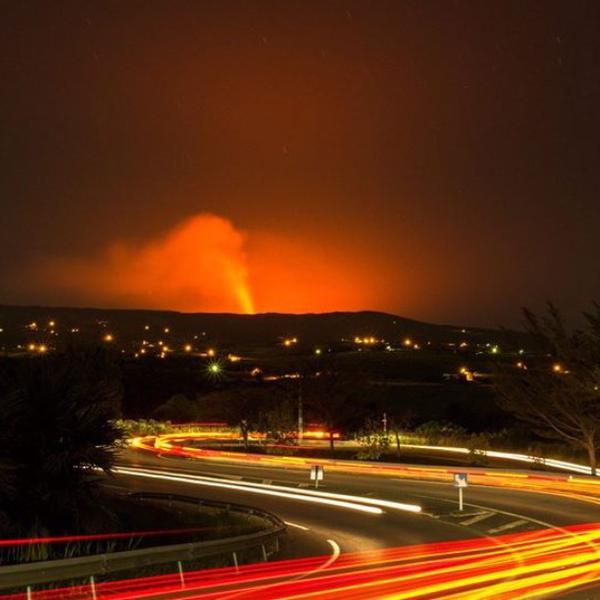 【フランス領】インド洋にあるレユニオン島フルネーズ火山が噴火…今年で4度目